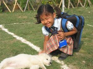 Maya & Puppy
