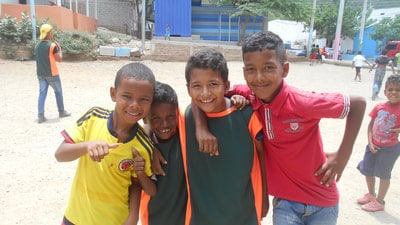 Kids in the Colombia Bario